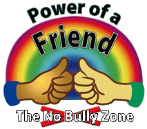 Rainbow thumbs up power of a friend The No Bully Zone